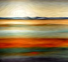 Abstract Colors Oil Painting # 15 by Fred Seghetti
