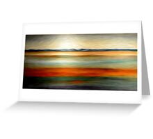 Abstract Colors Oil Painting # 15 Greeting Card