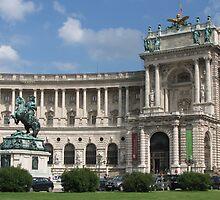 Vienna - National Library by Jenny Brice