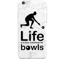 Bowls v Life - Marble iPhone Case/Skin
