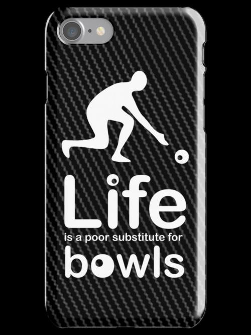 Bowls v Life - Carbon Fibre Finish by Ron Marton