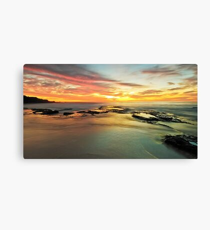 Colour on the Rock Canvas Print