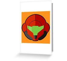 Samus - Metroid Greeting Card