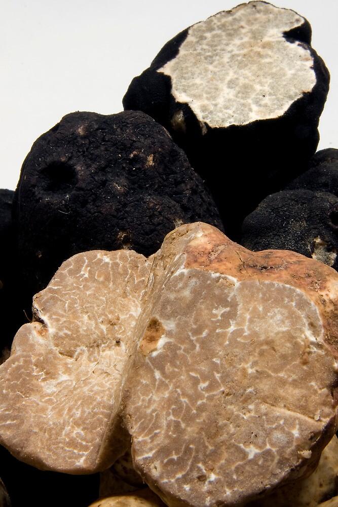 Oregon Black & White Truffles by OrPhotoJohn