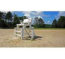 Lifeguard Stand Photographic Print