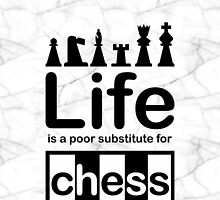 Chess v Life - Marble by Ron Marton