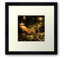Damn Another Asteroid! Framed Print