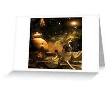 Damn Another Asteroid! Greeting Card