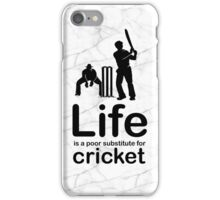Cricket v Life - Marble iPhone Case/Skin