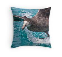 Northern Giant Petrel Throw Pillow
