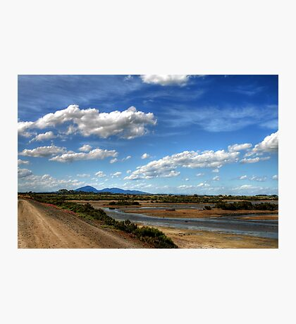 The Tidal Sand Flats at Avalon Beach Photographic Print