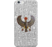 Winged Horus iPhone Case/Skin