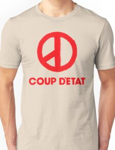 COUP D'ETAT V. RED T-Shirt