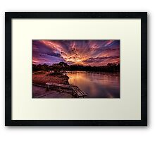 Empty seat Framed Print