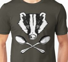 Badger and Spoons Unisex T-Shirt