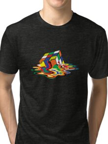 Melting Cube Tri-blend T-Shirt