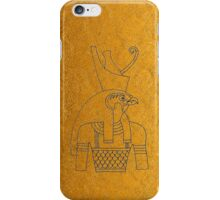 Golden Horus  iPhone Case/Skin