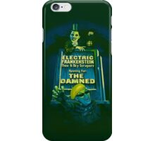 The Damned Poster iPhone Case/Skin