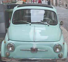 Fiat 500 Oldtimer. by Ziva Javersek