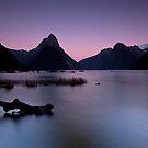 Mitre Peak - Fiordland - New Zealand by Kimball Chen