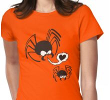 Dangerous Spider Love Womens Fitted T-Shirt