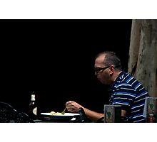 Lunch - QueenSt Mall, Brisbane Photographic Print