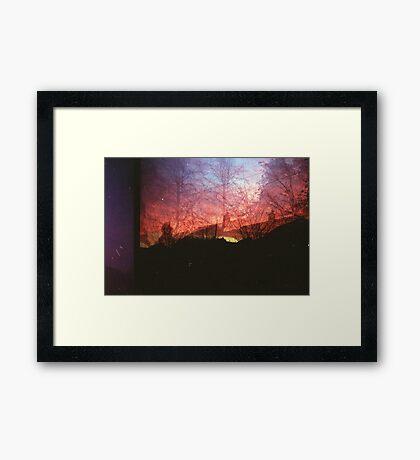 From Dusk Til Dawn Framed Print