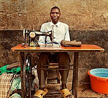 Great African Tailor by Henny Boogert