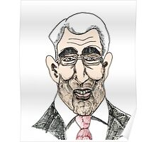 Alistair Darling Cartoon Caricature Poster