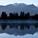 Lake Matheson - New Zealand by Kimball Chen