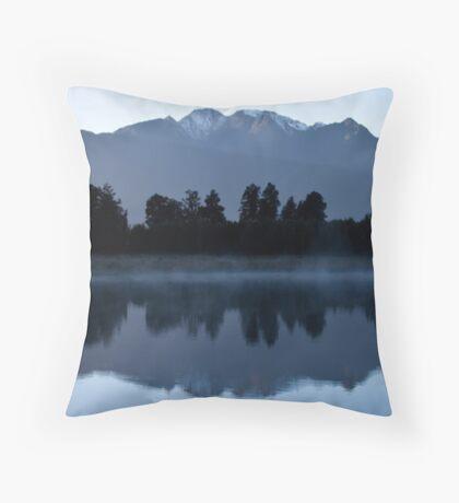 Lake Matheson - New Zealand Throw Pillow