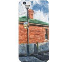 Red Brick House in Hobart iPhone Case/Skin