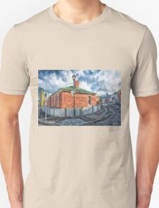 Red Brick House in Hobart Unisex T-Shirt