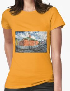 Red Brick House in Hobart Womens Fitted T-Shirt