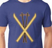 Skiing Unisex T-Shirt