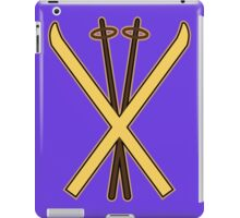 Skiing iPad Case/Skin