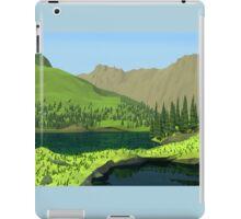 Polygon Hills iPad Case/Skin