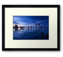 Menindee Blues Framed Print
