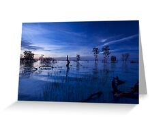 Menindee Blues Greeting Card
