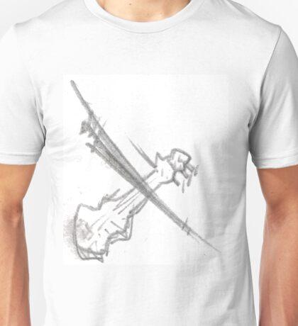 The Violin Unisex T-Shirt