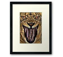Lion Beans Framed Print