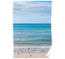Sky Sea Sand Poster