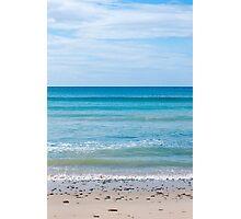 Sky Sea Sand Photographic Print
