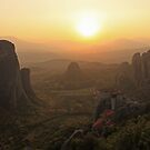 Meteora Sunset by GEO-G
