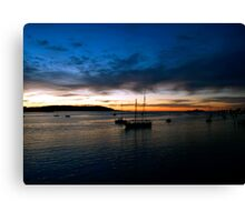 batemans bay morning Canvas Print