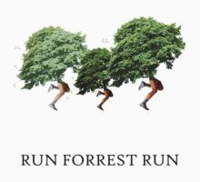 RUN FORREST RUN! by danzzig