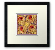 Swirling and Dancing Framed Print