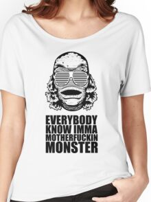 MONSTER Women's Relaxed Fit T-Shirt