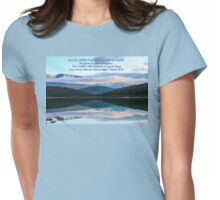 Our Sun and Shield Psalm 84:11 Womens Fitted T-Shirt