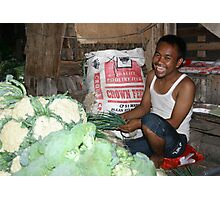 Street Market 2 Photographic Print